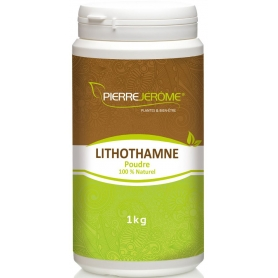 Lithothamne en poudre en pot PEHD inviolable de 1 kg lot de 6